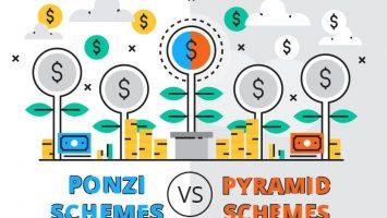 Ponzi Schemes vs Pyramid Schemes: How Do They Both Work?
