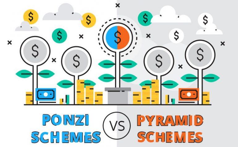 Ponzi-Schemes-Vs-Pyramid-Schemes-infographic