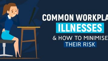 Common Workplace Illnesses & How to Minimise Their Risk – Infographic